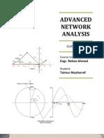Advanced Network Analysis