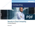Security in Cloud Computing Overview