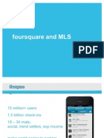 foursquare and MLS