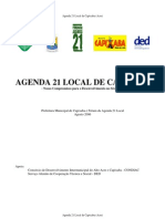 Agenda 21 Local de Capixaba 2006