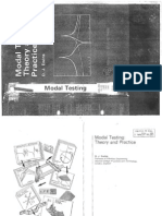 Ewins D. J., Modal Testing - Theory and Practice