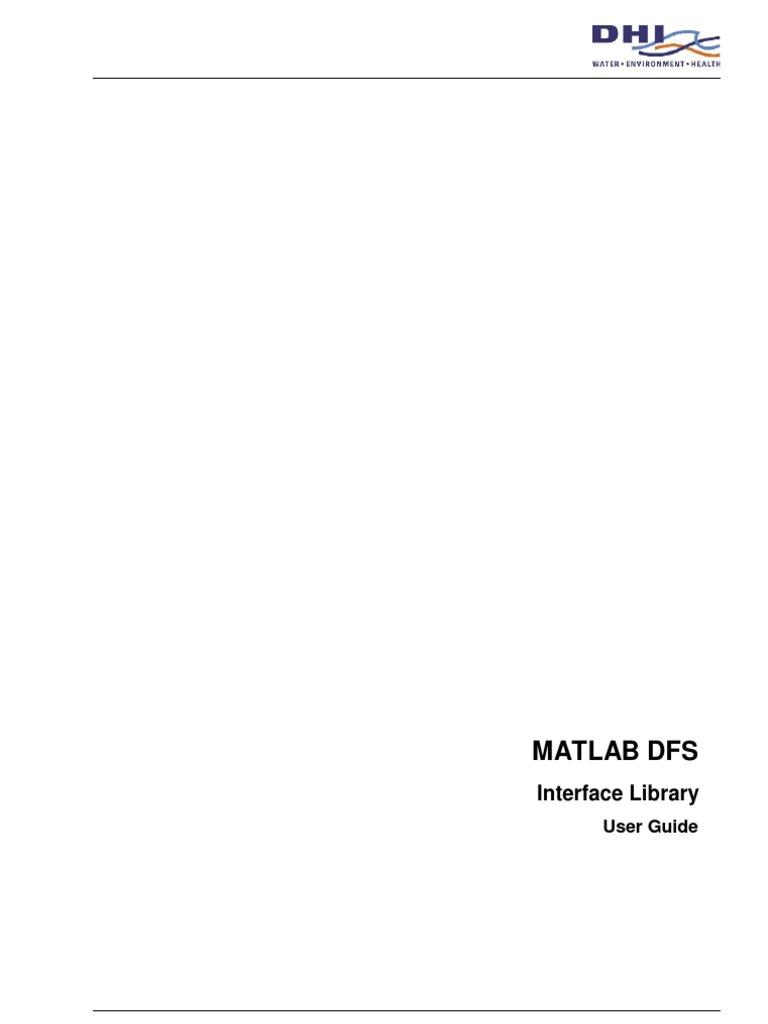 DFSMatlab2007 | Matlab | Computer File