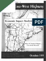Maine East-West Highway Economic Impact - Phase 4 Summary