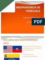 INDEPENDENCIA DE VENEZUELA (1)