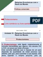 Unidade 10 - Políticas Comerciais
