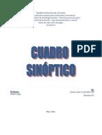 cuadro Materiales quimicos