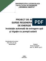 proiect SRE