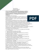 Portaria DGP 02 - 2012- Inquérito Policial Eletronico