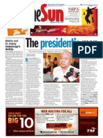 TheSun 2008-11-12 Page01 the Presidents Men