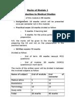 module 1marks-2011-2012