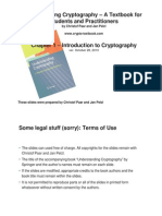 Understanding Cryptography Chptr 1---Intro to Crypto + Historical Ciphers