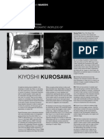 On the Charismatic Worlds of Kiyoshi Kurosawa