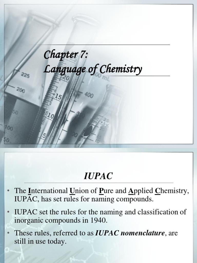 Chapter 7 Language Of Chemistry Ion Ionic Bonding