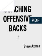Coaching Offensive Backs