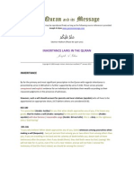 Inheritance Laws in the Quran