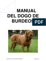 El Manual Del Dogo de Burdeos