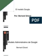 Memorias Modelo Google