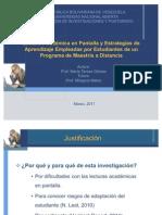 Lectura Académica en Pantalla y Estrategias de Aprendizaje 2