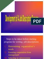 Job Description Presentation