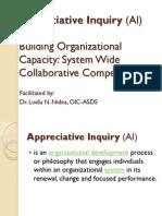 Appreciative Inquiry Ai is an Organizational