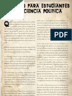Consejos Para Estudiantes de Ciencia Politica