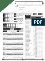 Kit Do Mestre D&D 3.5 Fichas de Persona Gem