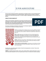 Soil Science for Agriculture