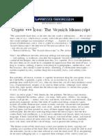Pyramid - Suppressed Transmission - Crypto Icon - The Voynich Manuscript