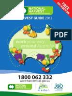 National Harvest Guide