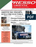 Expresso de Oriente 30 de Enero Del 2012