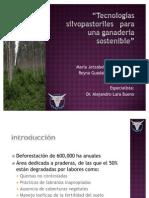 Tecnologías silvopastoriles   para una ganadería sostenible