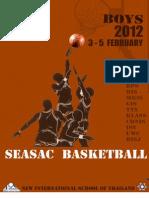 SEASAC Basketball Booklet 2012