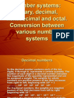 BINARY AND HEXADECIMAL NUMBER SYSTEM