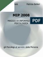 MIP 2008 Maggio di Informazione Psicologica