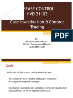 Lecture 13 - Case Investigation & Contact Tracing