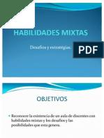 HABILIDADES MIXTAS