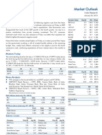 Market Outlook 30th January 2012