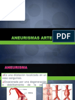 ANEURISMAS ARTERIALES