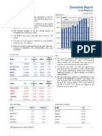 Derivatives Report 30th January 2012