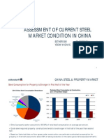 Assessment of China Steel Market