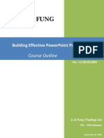 Building Effective Power Point Presentations-Course Outline