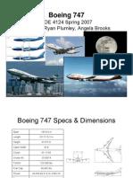 B-747 Especificaciones