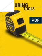 Stanley Hand Tools Catalog Measuring 2011