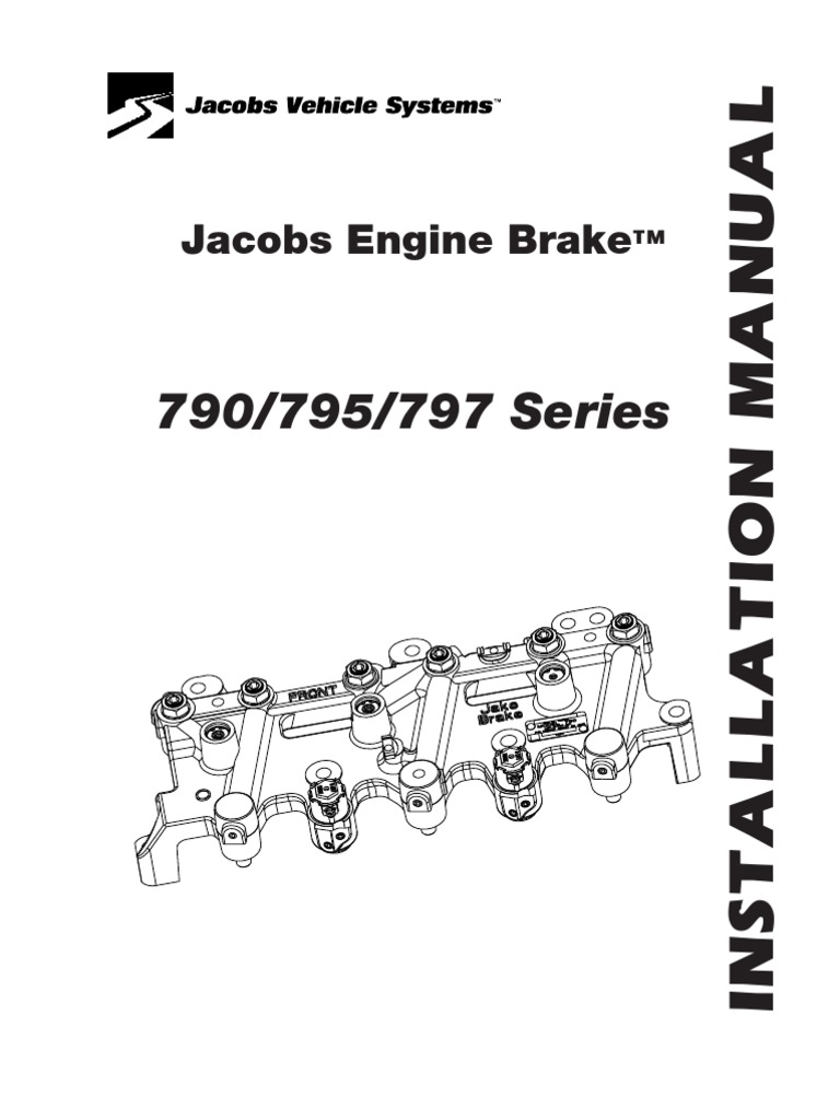 3406b jake brake wiring diagram