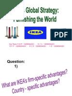 Ikeas Global Strategy, Furnishing the Worlds