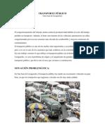 METODOLOGIA (TRANSPORTE PUBLICO)