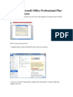 Activar Microsoft Office Professional Plus 2010 Sin Errores