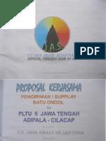 Proposal Kerjasama Investasi Tambang Cv Abadi Jaya Sejahtera