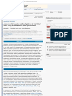 Assessment of Repeated Relational Patterns for Individual Cases Using the SAsb