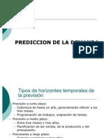 Tecnicas de prediccion